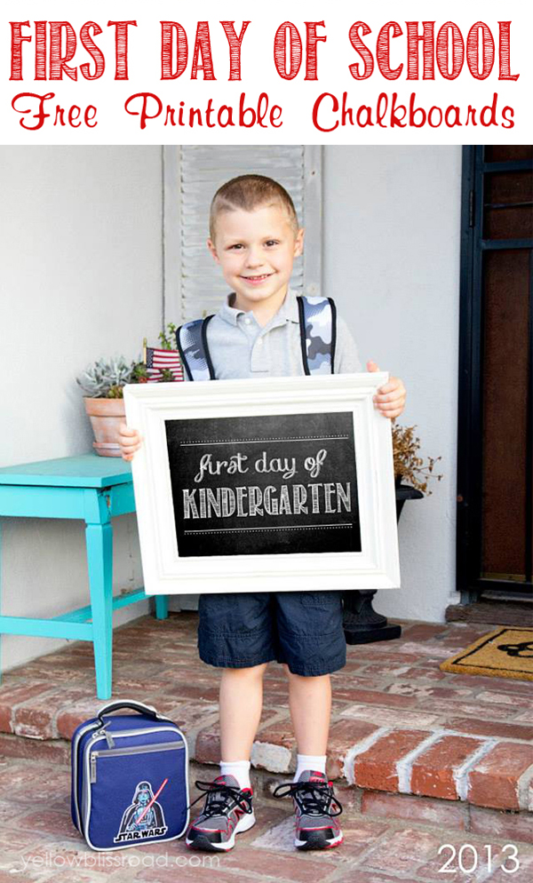 First-Day-of-School-Free-Chalkboard-Printables