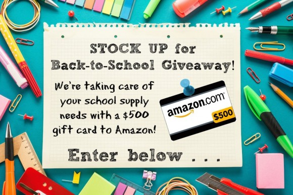 $500 Back to School Giveaway!