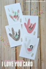 Sign Language I Love You Card