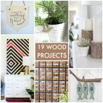 Great Ideas — 19 DIY Wood Projects!