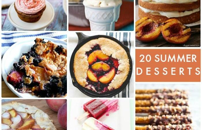 Great Ideas — 20 Summer Desserts!