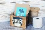 Summer Memory Box