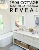 1905 Cottage Master Bathroom Reveal