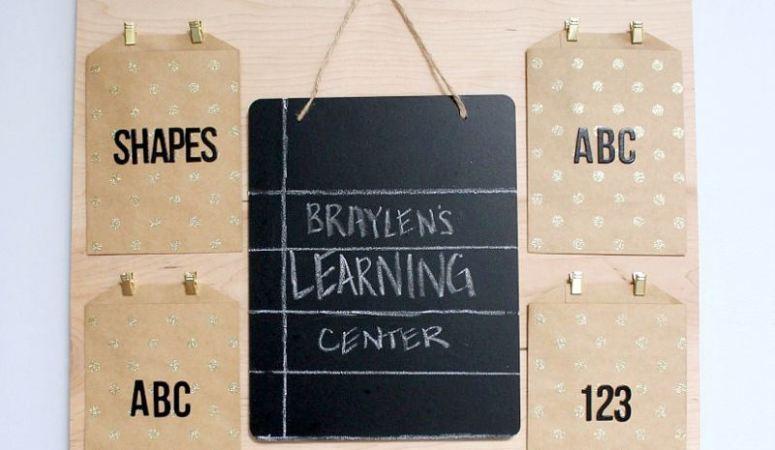 DIY Children's Learning Center