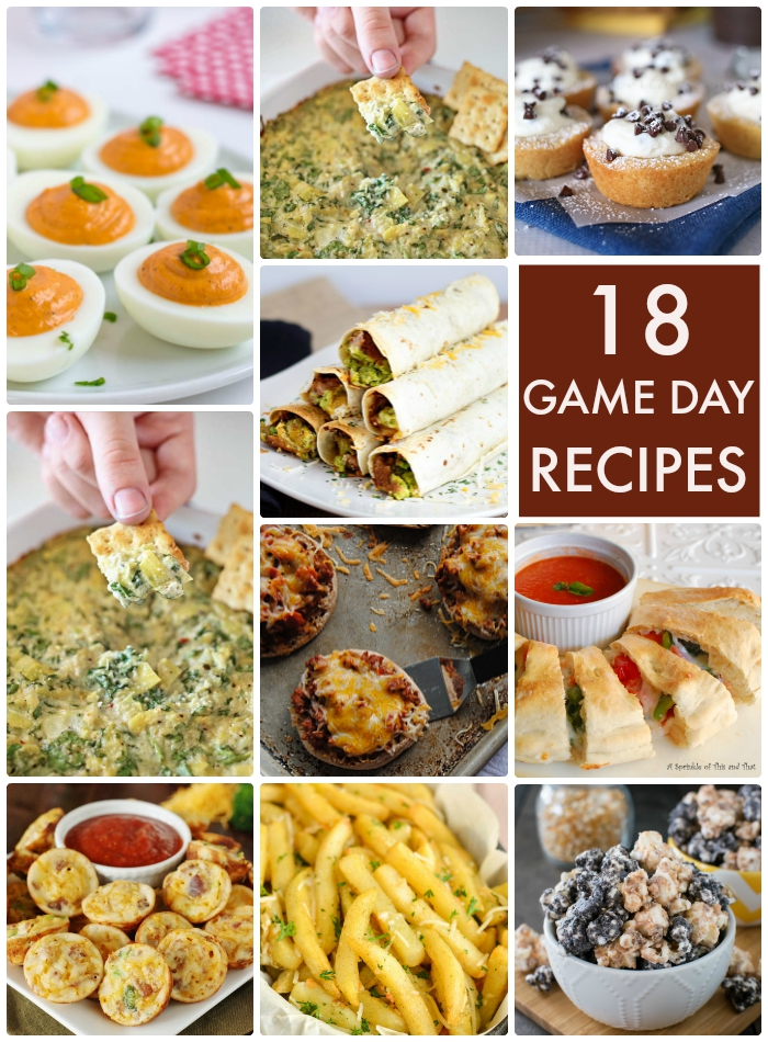 18 Game Day Recipes