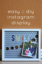 Easy DIY Instagram Display