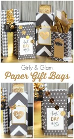 Girly and Glam Paper Gift Bags