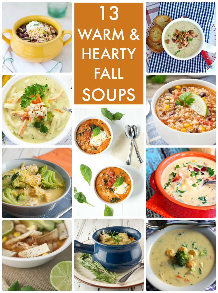 13 Warm and Hearty Fall Soups