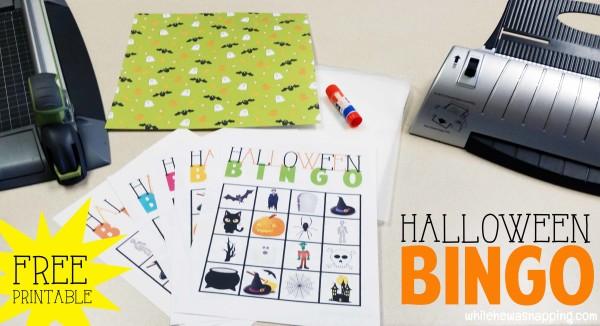 Halloween Bingo Game #halloweenparty #halloweenkids #partygame