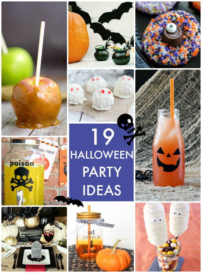 19 Halloween Party Ideas