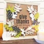 Give Thanks Wall Hanging! [And Free Printables!]