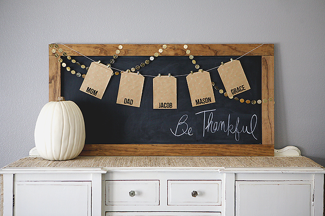 Be thankful board