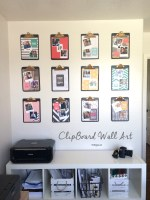 Make a DIY Clipboard Photo Display!