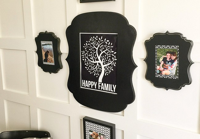 Happy Family Gallery Wall Idea and Printables!