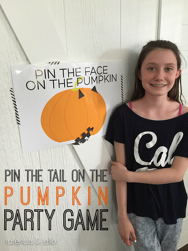 Halloween Pumpkin Party Game