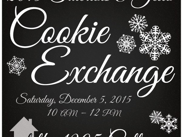 Cookie Exchange at the 1905 Cottage!