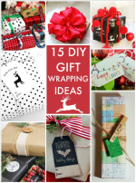 Great Ideas — 15 DIY Gift Wrapping Ideas!