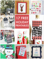 Great Ideas — 17 Free Holiday Printables!