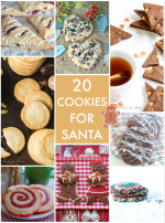 Great Ideas — 20 Cookies for Santa!