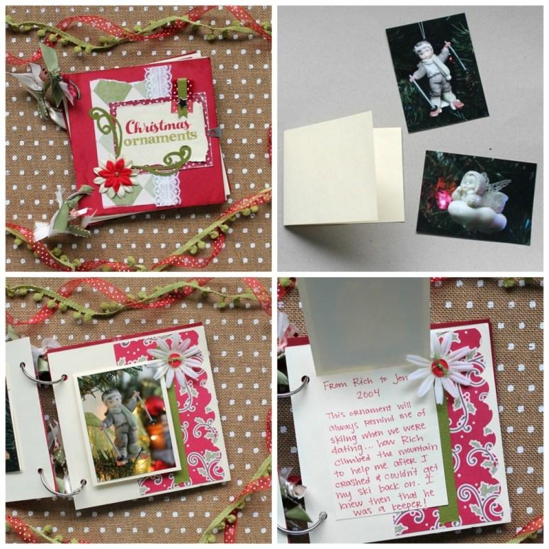 Christmas Ornaments Mini Album