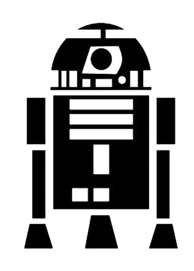 TT&J Cricut Star Wars R2D2