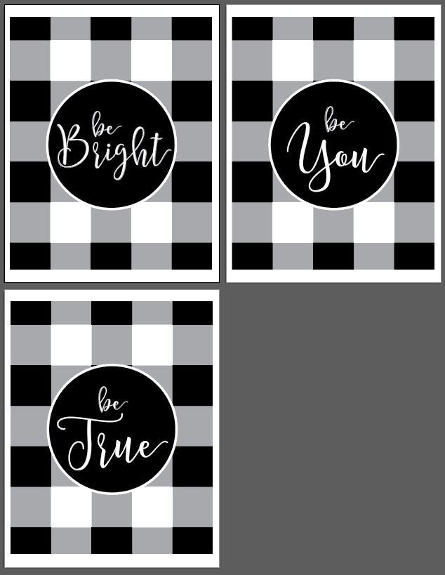 be bright be true be you 8 x 10 tatertotsandjello