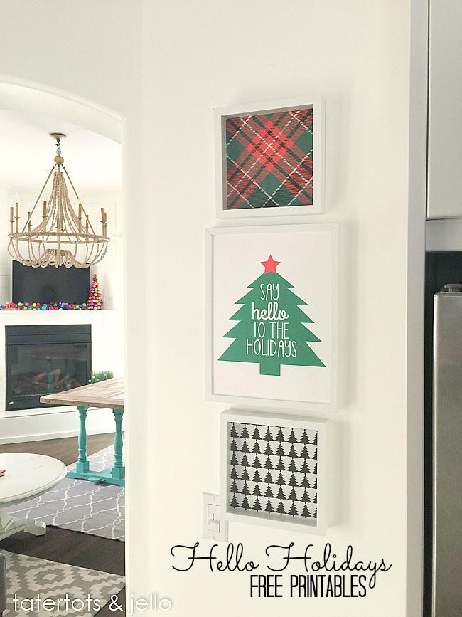 Helo Holidays Free Printables
