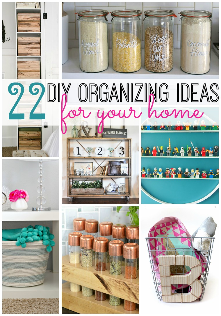 Diy Organization Ideas Part - 15: 22 DIY Organizing Ideas For Your Home