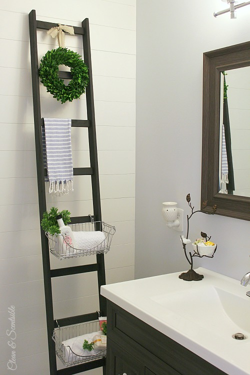 DIY-storage-ladder