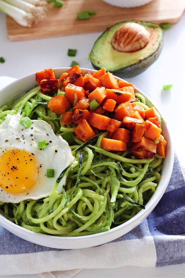Zucchini-Noodle-Breakfast-Bowl-8