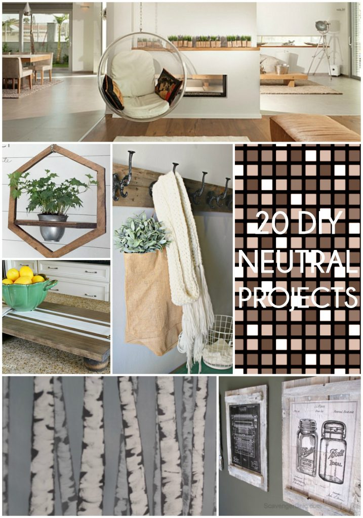 20 Neutral DIY Projects