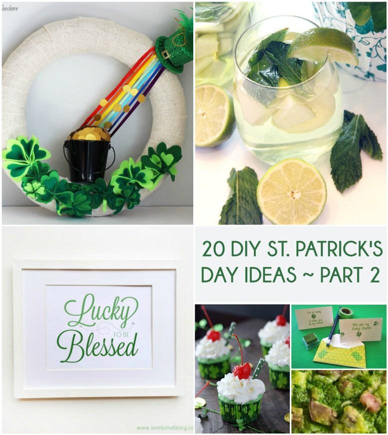 20 St Patrick's Day Ideas Pt 2