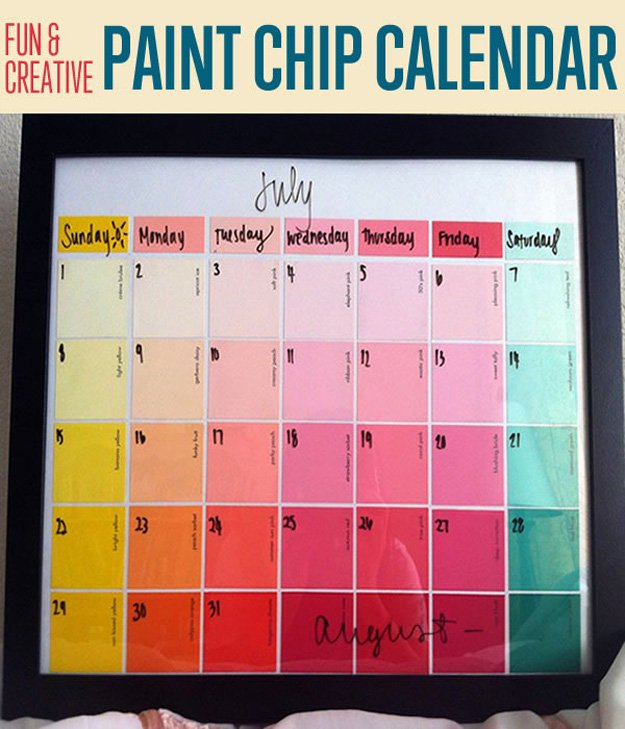 Fun-Creative-Paint-Chip-Calendar