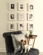Family Generations Gallery Wall and printables!
