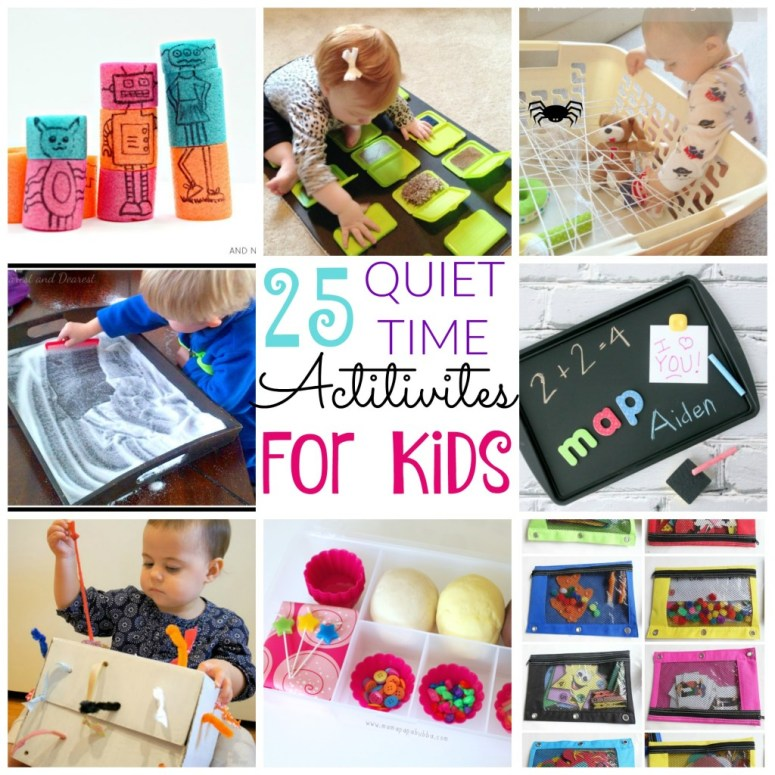 25 Quiet Time Activities for Kids