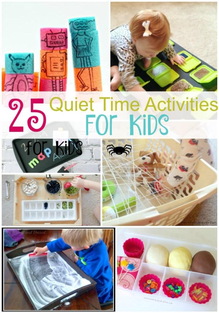 25 Quiet Time Activities