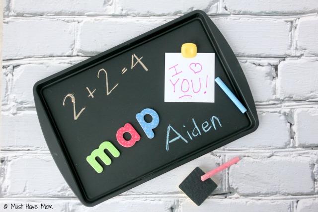DIY-Travel-Chalkboard-Magnet-Activity-Tray