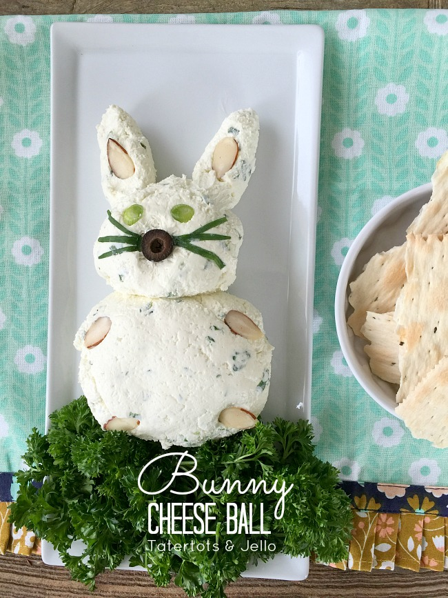 Bunny Cheese Ball Recipe