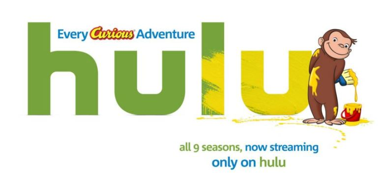 hulu curious george logo