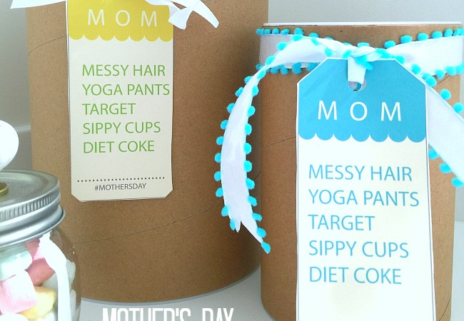 Messy Hair Moments Mother's Day Gift Tags!