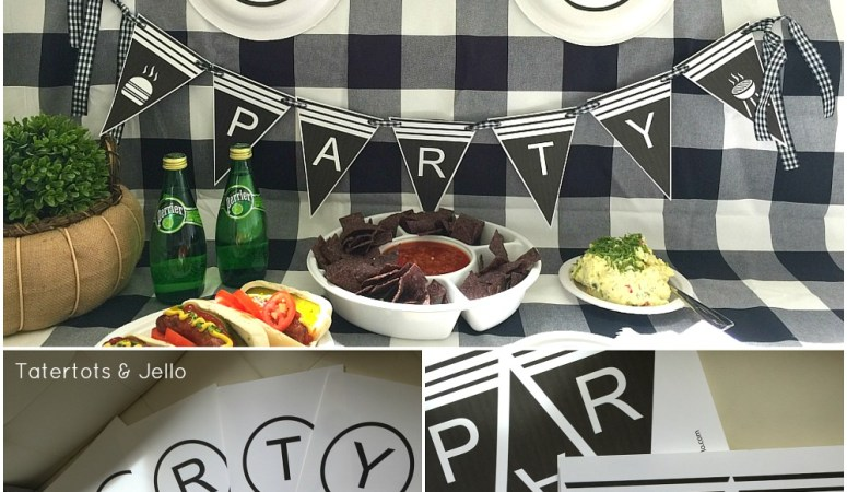 Summer BBQ Party Ideas and Printables