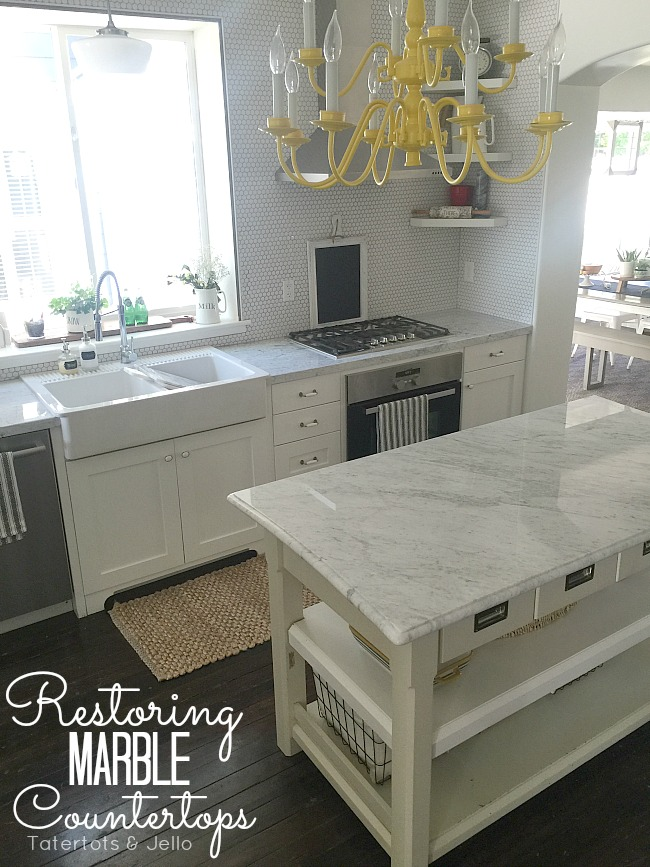 How to Restore Marble Countertops and Get Stains Out