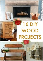 Great Ideas — 16 DIY Wood Projects!
