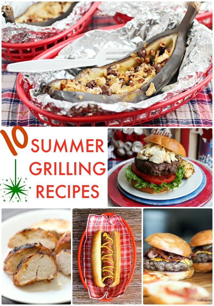 10 Summer Grilling Recipes