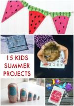 Great Ideas — 15 Summer Kids Crafts!