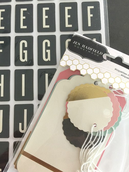 post it note tags DIY