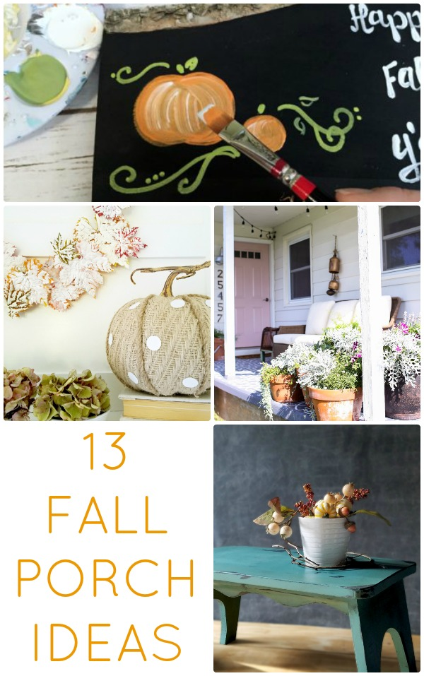 Great Ideas 13 Fall Porch Ideas
