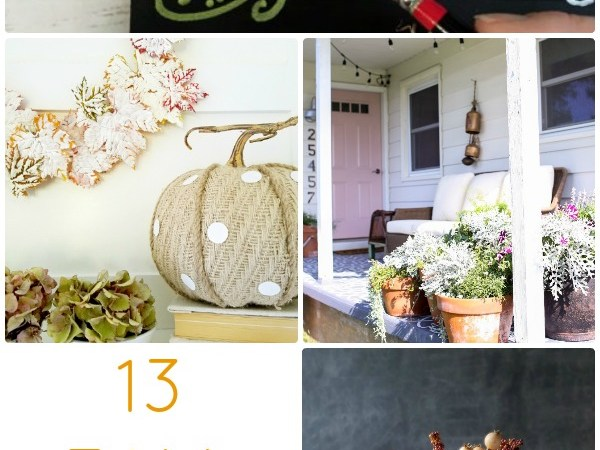 Great Ideas — 13 Fall Porch Ideas!