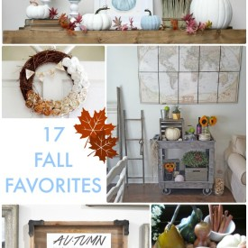 Great Ideas — 17 Fall Favorites!