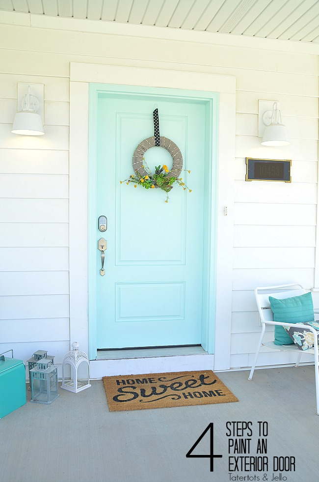 How To Paint An Exterior Door Four Easy Steps For Curb